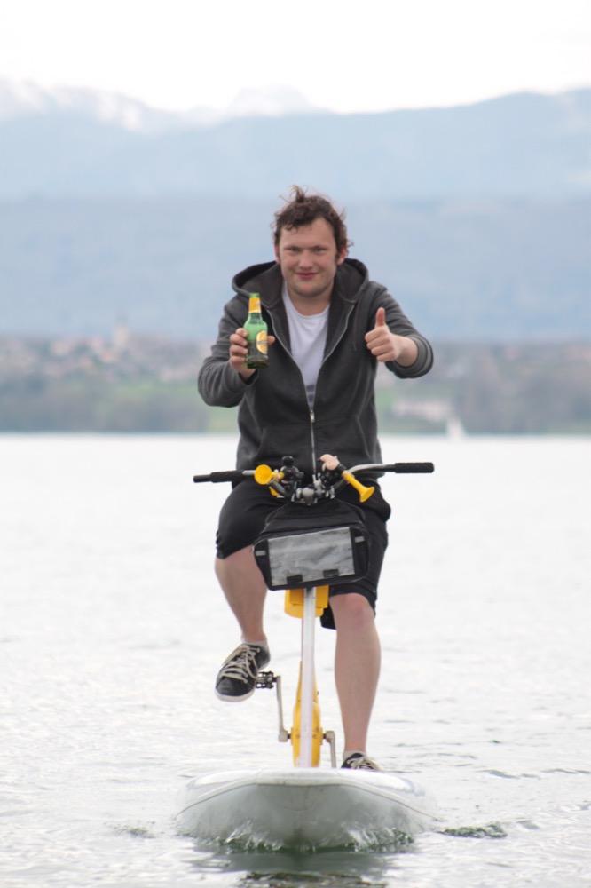 Arnaud, fondateur de l'association surfbike en Suisse