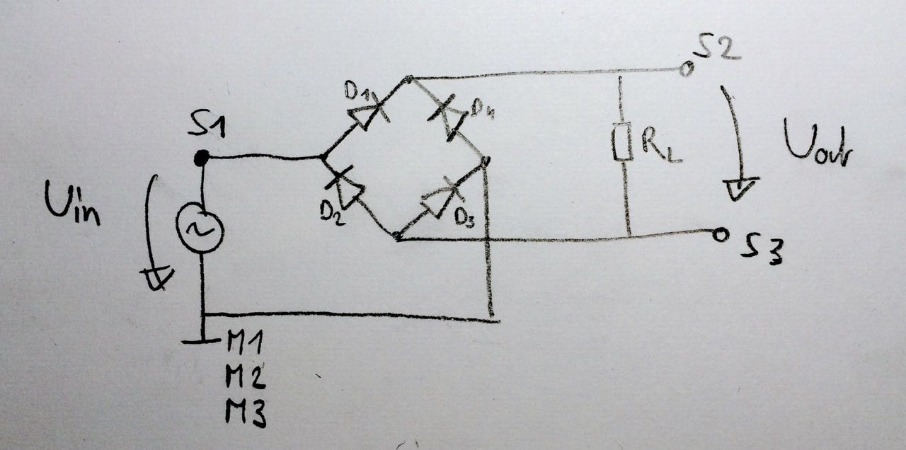 mesures pont de diodes